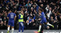 Willian's second-half strike sealed victory for Chelsea (Adam Davy/PA)