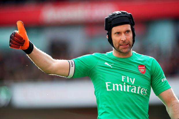 In a statement, Cech said: