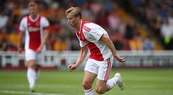 Ajax's Frenkie de Jong is said to be keen on a move to Manchester City (Nick Potts/PA)