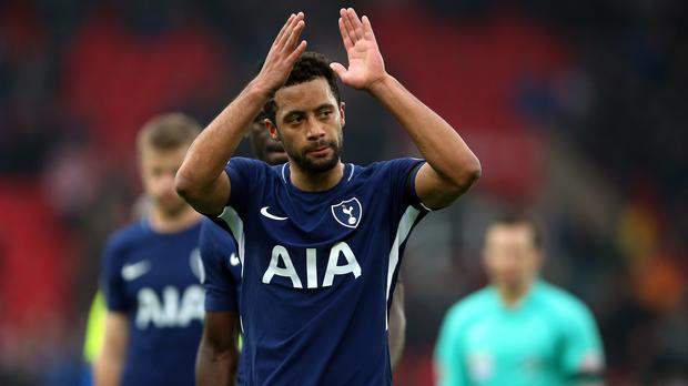 Tottenham midfielder Dembele joins China's Guangzhou R&F