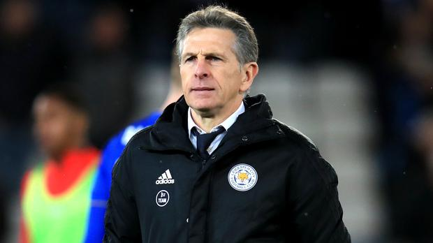 Leicester manager Claude Puel has been under fire from fans (Mike Egerton/PA)