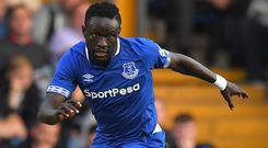 Everton's Oumar Niasse is set for a loan move to Cardiff (Dave Howarth/PA)