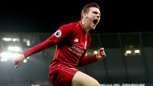 Liverpool's Andrew Robertson has signed a new five-year contract (Richard Sellers/PA).