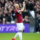 Marko Arnautovic wants a move to China (Yui Mok/PA)
