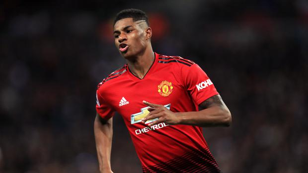 Marcus Rashford remains in favour with Manchester United (Mike Egerton/PA)