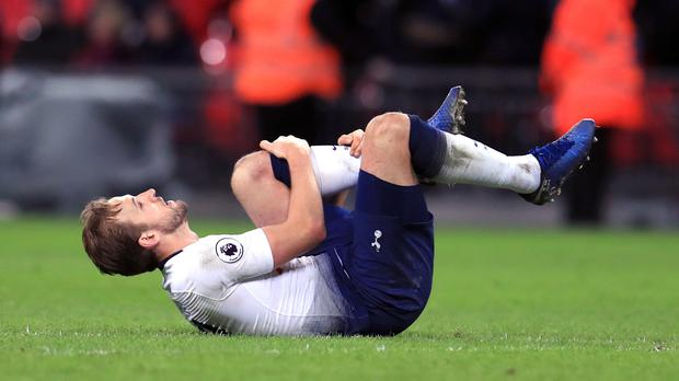 Tottenham's Harry Kane is out until March (Mike Egerton/PA)
