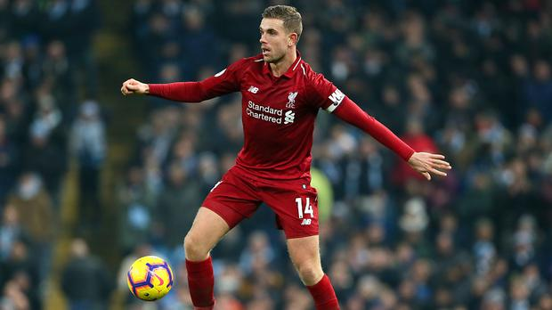 Liverpool captain Jordan Henderson praised the team for finding another way to win against Crystal Palace (Richard Sellers/PA)