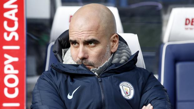 Pep Guardiola was not overly impressed by his side's display at Huddersfield (Martin Rickett/PA)