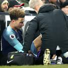 Dele Alli injured his hamstring at Fulham and will be out until March (Adam Davy/PA)