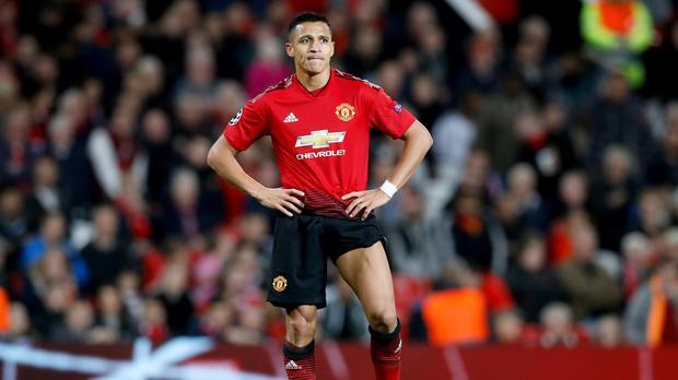 5b5d35dd4 Alexis Sanchez has struggled to make an impression at Manchester United  (Martin Rickett PA