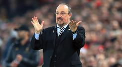 Newcastle manager Rafael Benitez will not change his approach as Manchester City head for St James' Park (Peter Byrne/PA)