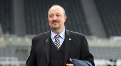 Newcastle manager Rafael Benitez is hoping for a breakthrough in the January transfer market (Richard Sellers/PA)
