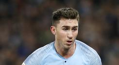 Aymeric Laporte has challenged Manchester City to bounce back against Arsenal (Martin Rickett/PA)