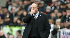 Newcastle boss Rafael Benitez has landed his first January signing with the loan capture of Antonio Barreca (Richard Sellers/PA)