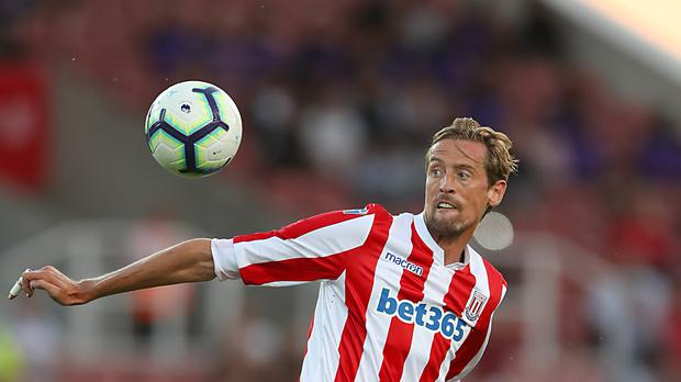 Peter Crouch is returning to the top flight with Burnley (Nick Potts/PA)