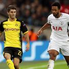 Christian Pulisic, left, accounted for almost a third of January spending while Tottenham sold Mousa Dembele (Nick Potts/PA)