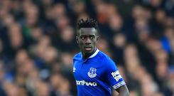 Everton rejected an offer from Paris St Germain for Idrissa Gana Gueye (Peter Byrne/PA)