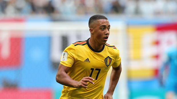 Youri Tielemans will hope to be included in the squad on Sunday (Aaron Chown/PA)
