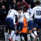 Son Heung-min scored the only goal (Steven Paston/PA)