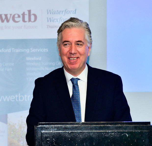 Chief executive John Delaney, who has been on the board for 18 years, is exempt from the reforms. Photo: Matt Browne/Sportsfile