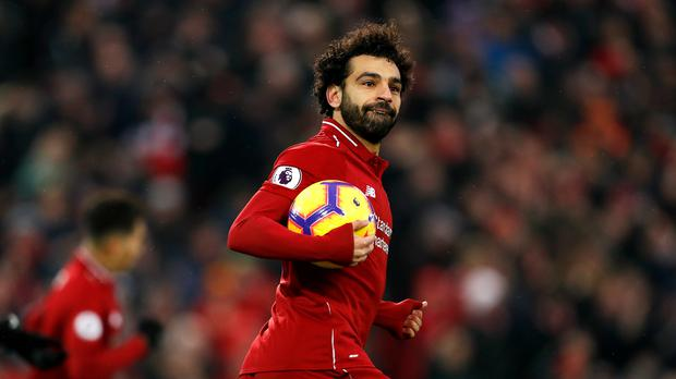 Mohamed Salah has admitted he is feeling the weight of expectation as Liverpool look to end their 29-year wait for a Premier League title.