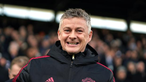 Ole Gunnar Solskjaer has had plenty to smile about in recent weeks. (John Walton/PA)