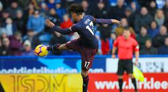 Alex Iwobi scored the opener for Arsenal at Huddersfield (Mike Egerton/PA)