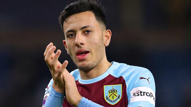 Burnley's Dwight McNeil, pictured, has impressed his manager Sean Dyche (Richard Sellers/PA)