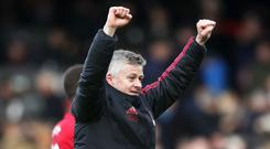 Ole Gunnar Solskjaer is likely to be a popular choice for the top job among United fans (John Walton/PA)