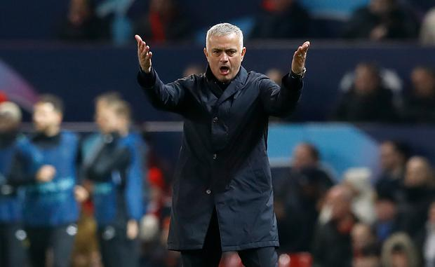 Jose Mourinho was on the touchline in the Champions League earlier this season but will now be in the television studio talking about the competition (Martin Rickett/PA)