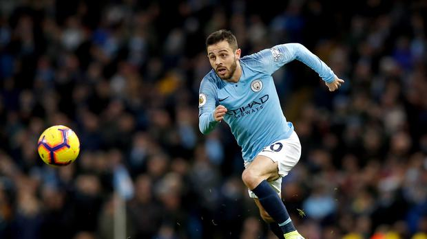 Bernardo Silva feels Manchester City's charge is being fuelled by their quick starts (Martin Rickett/PA)