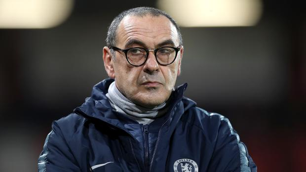 Chelsea manager Maurizio Sarri's future is said to be hanging in the balance (Andrew Matthews/PA)