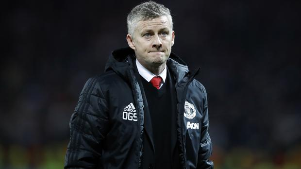 Manchester United's interim manager Ole Gunnar Solskjaer suffered defeat for the first time at the hands of Paris St Germain (Martin Rickett/PA)