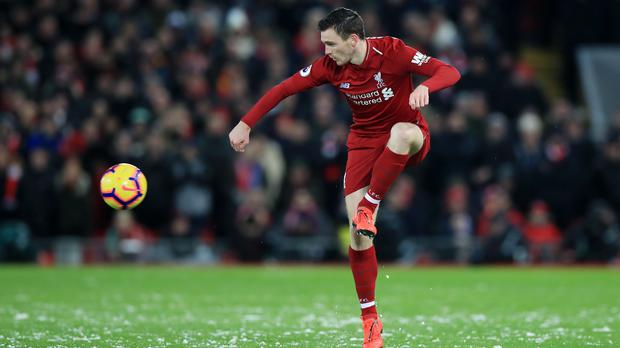 Defender Andrew Robertson expects Liverpool to be fully refreshed for the Champions League visit of Bayern Munich (Peter Byrne/PA)