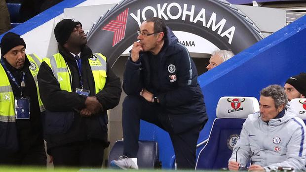 Maurizio Sarri's future at Chelsea is in doubt (Adam Davy/PA)