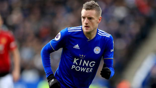 Leicester's Jamie Vardy could return against Crystal Palace (Mike Egerton/PA)