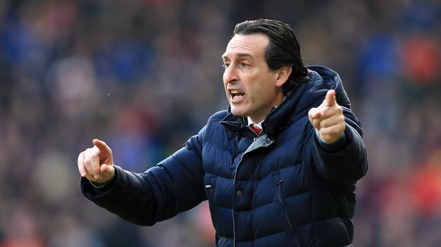 Unai Emery admits to being a big fan of Matt Le Tissier (Mike Egerton/PA)