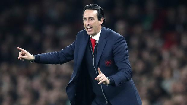 Unai Emery mastered minded an Europa League comeback with Arsenal (Adam Davy/PA)