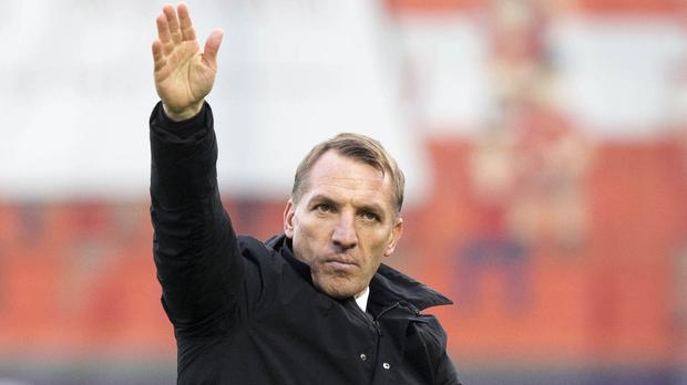 Brendan Rodgers believes he can handle a strong dressing room (Jeff Holmes/PA)