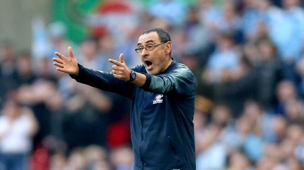 Chelsea head coach Maurizio Sarri believes the Kepa Arrizabalaga furore galvanised his squad (Nigel French/PA)