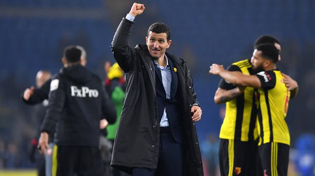 Watford manager Javi Gracia believes his side can continue to improve (Simon Galloway/PA)