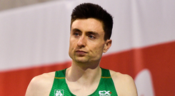 Mark English was furious after his fall yesterday. Photo: Sportsfile