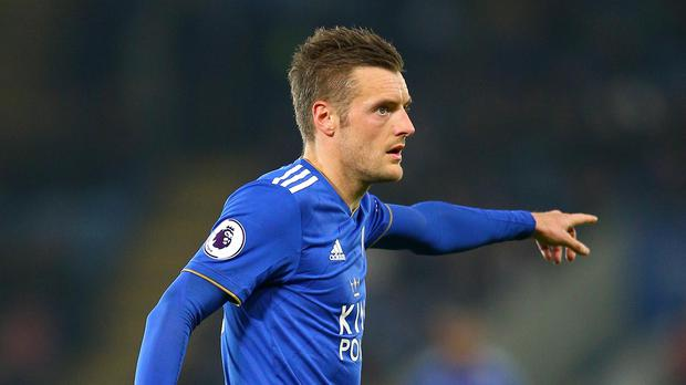 Leicester's Jamie Vardy will be the main man under Brendan Rodgers. (Nigel French/PA)