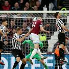 Declan Rice opened the scoring against Newcastle (Paul Harding/PA)