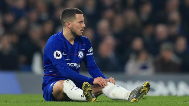 Eden Hazard says Chelsea are targeting victory in all of their final 10 Premier League games (Simon Cooper/PA)