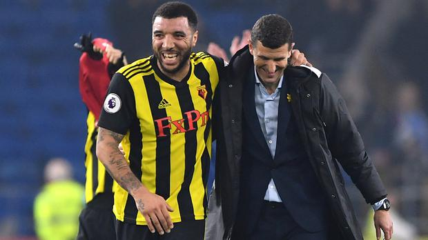 Could Watford provide the next twist in the title race when they travel to Manchester City? (Simon Galloway/PA)