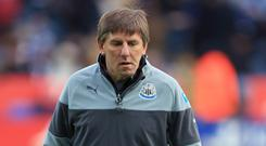 Peter Beardsley has left Newcastle (Mike Egerton/PA)