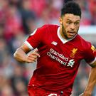 Liverpool midfielder Alex Oxlade-Chamberlain is set to play for the club's under-23s (Anthony Devlin/PA)