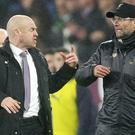 Liverpool manager Jurgen Klopp insists he has no bad feelings about Burnley despite a fractious encounter in December. (Nigel French/PA)