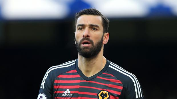 Wolves goalkeeper Rui Patricio will return at Stamford Bridge (Peter Byrne/PA)